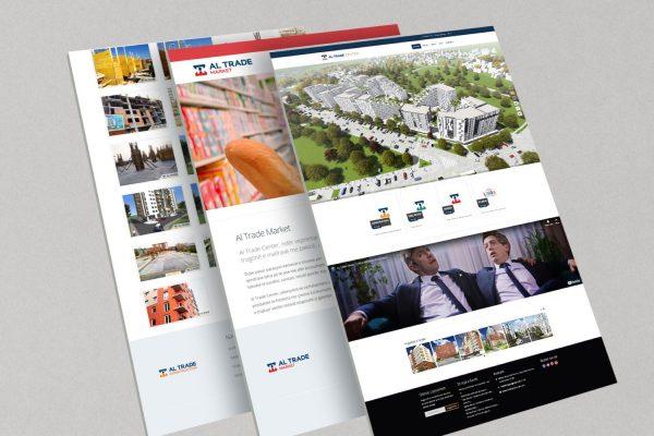 Website Design and Development, Al Trade Center