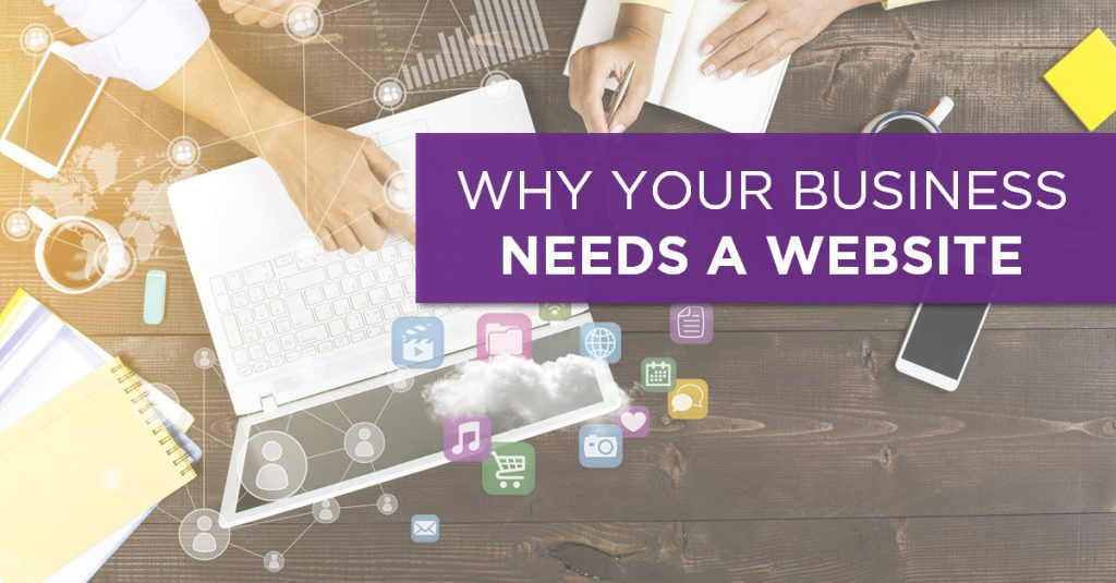 How does a website add value to a business?